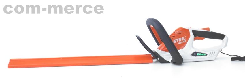stihl akku heckenschere hsa 45 50cm heckenschere mit integriertem akku ebay. Black Bedroom Furniture Sets. Home Design Ideas